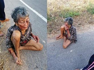 Xót xa cảnh cụ bà bị cháu nội đánh đập đến mức phải ngủ vạ vật ngoài đường: 'Tôi làm gì có sức tự vệ'