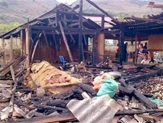 Chồng đốt nhà khiến vợ chết cháy, bỏ lại 5 con thơ dại: Nhiều lần đòi ly hôn để cưới vợ mới
