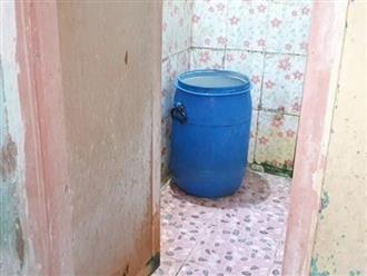Bé gái 2 tuổi chết đuối thương tâm trong thùng nước nhà tắm vì bố mẹ mải xem tivi
