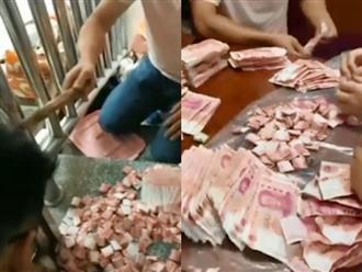Chồng giấu vợ cất quỹ đen ở chỗ bá đạo, số tiền kếch xù đến nỗi cả nhà đếm nửa ngày không hết
