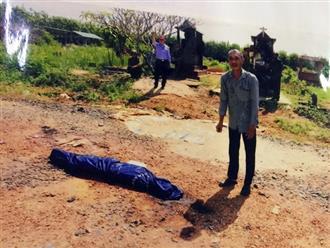 Cuồng ghen, chồng dùng búa đánh chết vợ rồi đốt xác tại nghĩa trang