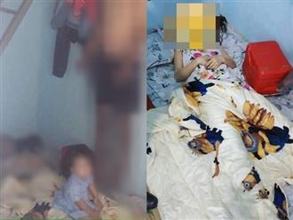 Nghi án chồng bóp cổ vợ hờ rồi treo cổ: Con 3 tuổi khóc ngất bên thi thể
