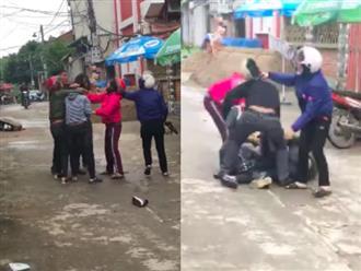 Bị bắt quả tang mang theo hoa, quà đi với gái lạ ngày 20/10, chồng đánh vợ tới tấp để bảo vệ nhân tình