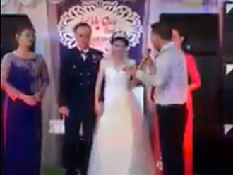 Clip cha nghẹn lời dặn dò con gái trong đám cưới: '24 năm qua, bố đã làm tất cả cho con, kể cả bằng tính mạng của mình'