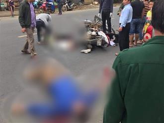 Clip nam thanh niên chạy xe tốc độ cao, lấn làn tông chết người đàn ông đi xe máy