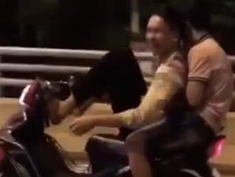 Clip: Thiếu niên 2k6 lái xe máy bằng chân và cái kết 'từ đường lên đồn' trong một nốt nhạc