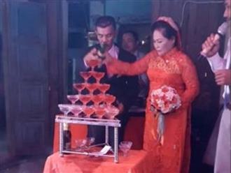 Clip cô dâu 64 tuổi e thẹn bên chú rể 75 tuổi ở Quảng Ngãi gây 'bão' mạng