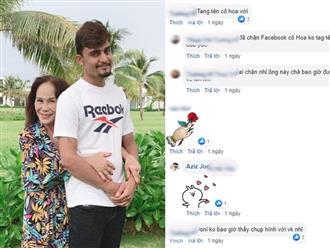Chồng Tây cấm cô dâu 65 tuổi không được đăng gì lên Facebook, khẳng định 'tự đi làm kiếm tiền nuôi vợ để không bị chửi'