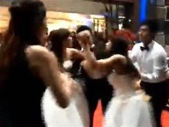 Hai cô dâu lao vào đánh ghen trong đám cưới, chú rể sốc nặng khi cả hai đều mang thai