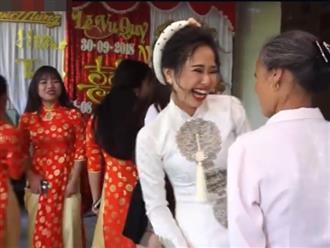 Clip cô dâu 'quẩy tới bến' mặc người lớn tuổi và nhà trai lườm nguýt gây tranh cãi gay gắt trên MXH