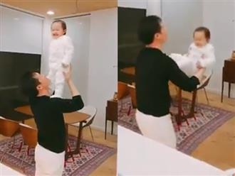 Con gái Phan Như Thảo thích chơi trò 'cảm giác mạnh' cùng bố