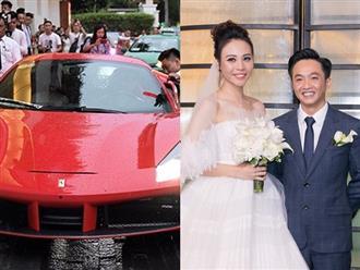 Clip: Dàn siêu xe gây náo loạn đường phố ở lễ cưới Cường Đô La - Đàm Thu Trang