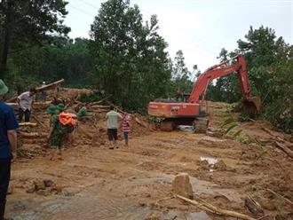 Đã xác định được vị trí 13 cán bộ cứu hộ mất tích tại Thủy điện Rào Trăng 3
