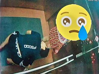 Truy tìm gã biến thái quỳ xuống sàn thang máy chung cư để nhìn bên trong váy của bé gái