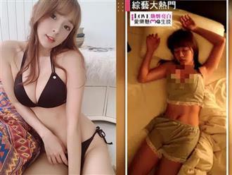 Đang ngủ say thì bị đồng nghiệp đột kích, nữ Youtuber lộ 'cảnh xuân' nóng bỏng khiến dân tình ngượng chín mặt
