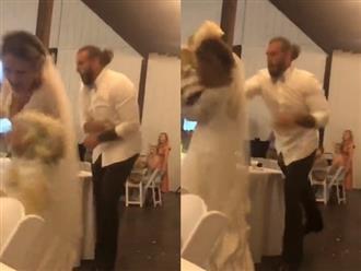 Đang vui vẻ, chú rể ném thẳng bánh cưới vào mặt cô dâu, biết nguyên nhân dân tình rần rần phẫn nộ
