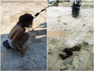 Hai phụ nữ đánh ghen lột đồ, đổ mắm tôm lên đầu cô gái trẻ: 'Nó cho mày bao nhiêu tiền?'