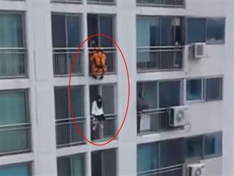 Đạp thẳng vào mặt nữ sinh định nhảy lầu tự tử, anh lính cứu hỏa được dân tình rần rần khen ngợi