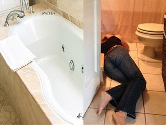 Vợ bầu bị điện giật chết trong nhà tắm, chồng vào cứu cũng tử vong thương tâm