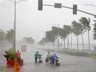 Dự báo thời tiết hôm nay 28/10: Bão số 9 gây mưa rất to ở các tỉnh miền Trung