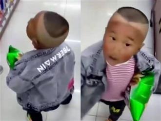 Mẹ đưa con trai đi cắt tóc cho mát, kết quả 'nửa hồn thương đau' khiến cô cười chảy nước mắt