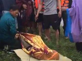 Liều mình đi thả lưới bắt cá trong mưa lũ, 2 người đuối nước thương tâm