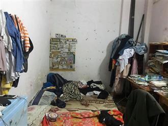 Nổi da gà cảnh gái xinh ở bẩn kinh hoàng: Phòng trọ ngập ngụa rác thải, chăn nệm đen sì như chục năm chưa giặt