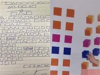 Giải thích về hình vuông, tam giác, tròn trong sách Tiếng Việt lớp 1 mới