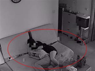 Lén kiểm tra camera, cha nổi giận đùng đùng khi thấy hành động của con trai 11 tuổi với bạn gái