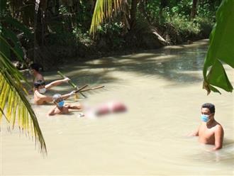 Phát hiện thi thể người phụ nữ bị trói hai chân, dìm dưới mương nước bởi 5 thanh tre