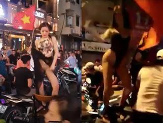Loạt hình ảnh ăn mừng phản cảm trong đêm 'đi bão' mừng đội tuyển Việt Nam bị dân mạng 'ném đá' tơi tả