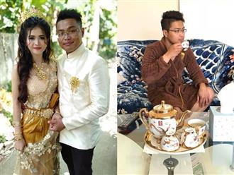 Bất ngờ trước gia thế 'khủng' của chồng cô dâu Khmer xinh đẹp đang gây 'bão' MXH
