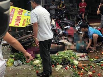 Hiện trường kinh hoàng vụ xe tải lao thẳng vào chợ, nhiều người tử vong ở Đắk Nông