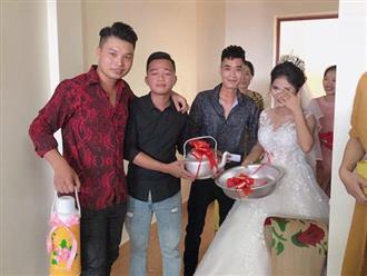 Cô dâu chấm nước mắt 'bất lực' khi nhìn thấy quà cưới trong cốp xe Mercedes sang trọng khiến dân mạng cười ngất