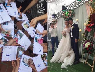Hội bạn thân sưu tập ảnh thời 'trẻ trâu' của cô dâu dán lên phong bì mừng cưới khiến dân mạng cười ngất