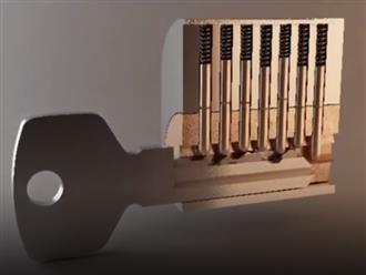 Hóa ra ổ khóa hoạt động như thế này!