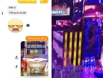 """Lừa vợ đi ăn, anh chồng gửi nhầm định vị và bức ảnh để lộ chi tiết khó tin, giúp chị vợ bắt tại trận đang cặp kè với """"đào"""" ở karaoke"""