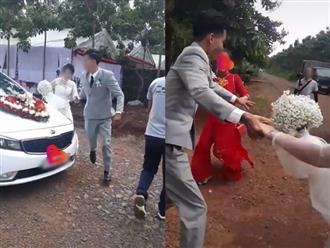 Mạng xã hội xôn xao câu chuyện cô dâu mang bầu, mẹ chồng bắt đi vào từ cửa sau trong đám cưới và hành động bất chấp của chú rể
