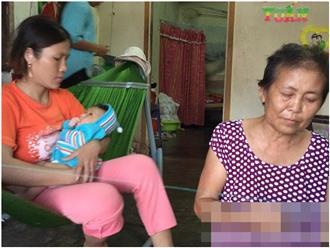 Vụ mẹ chôn sống con: Bà ngoại kể lại giây phút bới đất cứu cháu