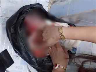 Phát hiện thi thể bé sơ sinh bị quấn dây vải quanh cổ, nghi bị mẹ sinh trong toilet công ty rồi vứt bỏ