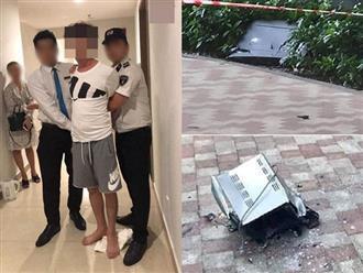 Cãi nhau với vợ, thanh niên ném tivi từ tầng 40 chung cư xuống đất khiến cô lao công suýt chết?