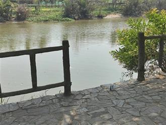 Vụ người phụ nữ tử vong khi đi thả cá: Con trai 9 tuổi chìa tay cứu mẹ nên ngã luôn xuống sông