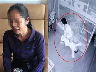 Người giúp việc cầm chân dốc ngược đầu, quăng quật bé 14 tháng tuổi vì khóc không chịu ngủ
