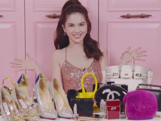 Ngọc Trinh khiến người hâm mộ choáng váng khi khoe những món đồ đắt giá nhất trong tủ đồ