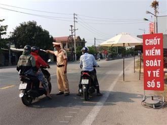 Người và phương tiện từ Đà Nẵng chỉ được phép đến Huế trong trường hợp đặc biệt
