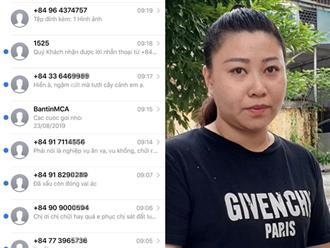Nữ công an gây rối ở sân bay nhận hàng trăm tin nhắn 'khủng bố'