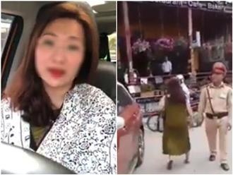 Nữ đại gia đỗ ô tô chắn ngang đường: Thà mất xe còn hơn để CSGT Sa Pa lộng hành?!