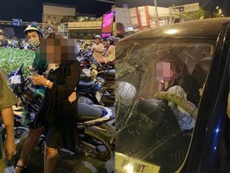 Nữ tài xế gây tai nạn kinh hoàng ở ngã tư Hàng Xanh: 'Đời em chưa bao giờ thế này, mọi người ở đây em lo'