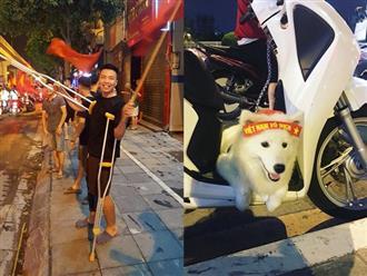 Loạt khoảnh khắc ăn mừng 'cười ra nước mắt' sau trận thắng lịch sử của Olympic Việt Nam