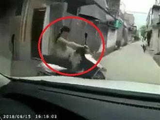 Clip: Pha xử lý bình tĩnh của nữ ninja trước đầu ô tô khiến dân mạng cười chảy nước mắt